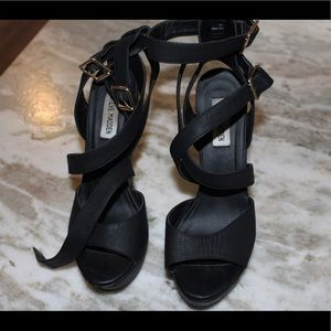 Steve Madden strappy shoes